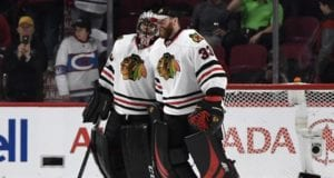 The Carolina Hurricanes hope to sign recently acquired Scott Darling