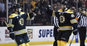 The Boston Bruins appear to be willing to move Ryan Spooner