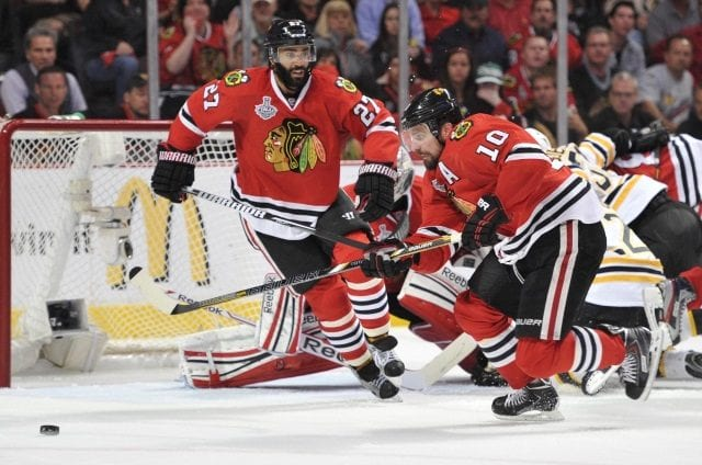 It's unlikely that the Chicago Blackhawks bring Patrick Sharp and Johnny Oduya back to the organization