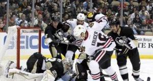 Pittsburgh Penguins and Chicago Blackhawks