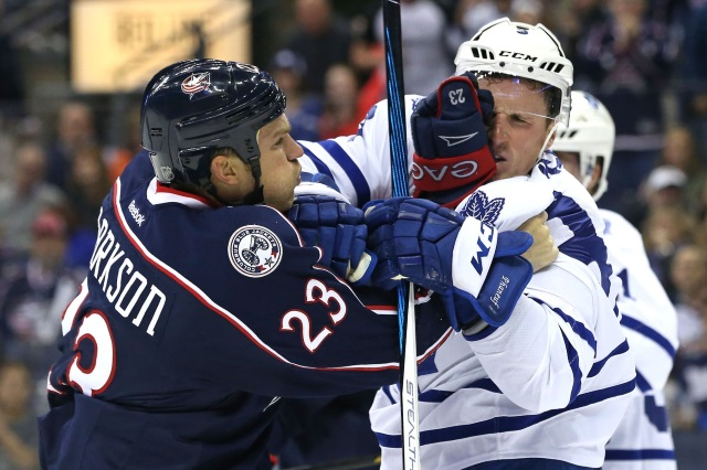 The Columbus Blue Jackets and Vegas Golden Knights may have trade in place where David Clarkson ends up in Vegas