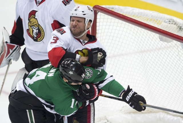 The Dallas Stars are interested in Marc Methot