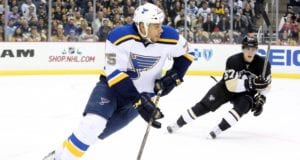 The St. Louis Blues trade Ryan Reaves to the Pittsburgh Penguins