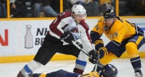 The Nashville Predators don't want to move any of their top-four defensemen in a trade for Colorado Avalanche forward Matt Duchene