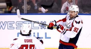 Washington Capitals free agents Evgeny Kuznetsov (RFA) and T.J. Oshie (UFA)
