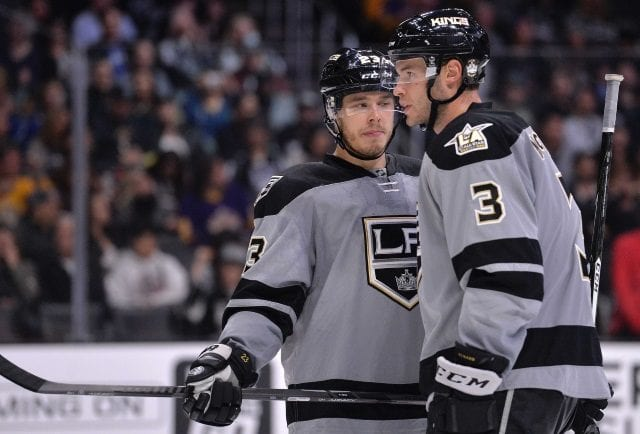 Dustin Brown and Brayden McNabb are two players the Los Angeles Kings could lose in the expansion draft