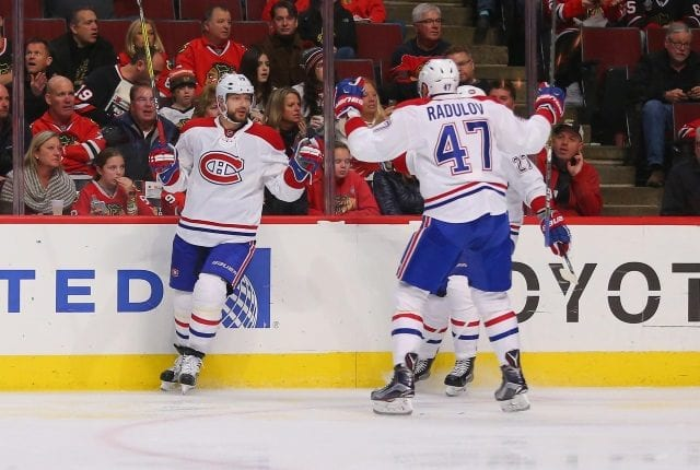 Term might be sticking point for Montreal Canadiens free agents Andrei Markov and Alexander Radulov