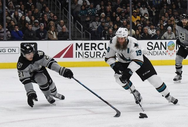 Do the Los Angeles Kings have a two year offer for Sharks free agent center Joe Thornton