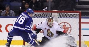 Did the Toronto Maple Leafs interest in Mike Condon force the Ottawa Senators to go three years?