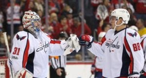 The Washington Capitals could lose one of Philipp Grubauer and Nate Schmidt in the NHL expansion draft