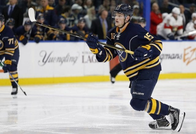 Jack Eichel and the Buffalo Sabres have held preliminary talks on a contract extension