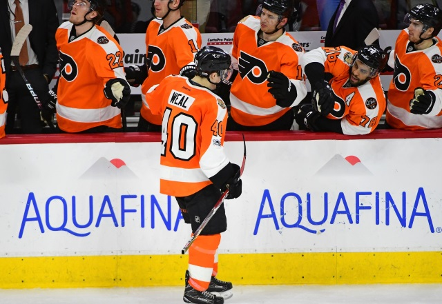 The Vegas Golden Knights could be eyeing the Philadelphia Flyers No. 2 pick