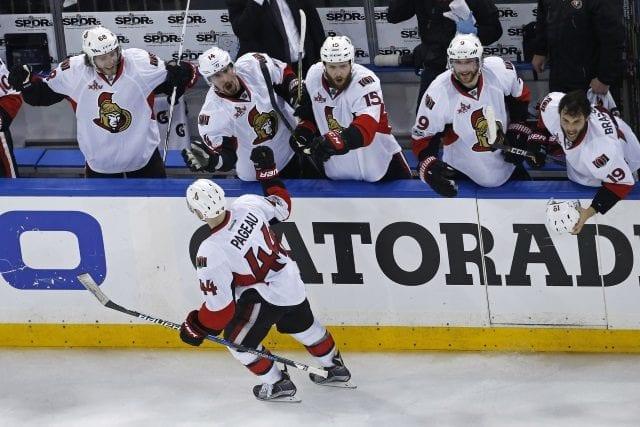The Ottawa Senators and Jean-Gabriel Pageau agree on a three-year deal