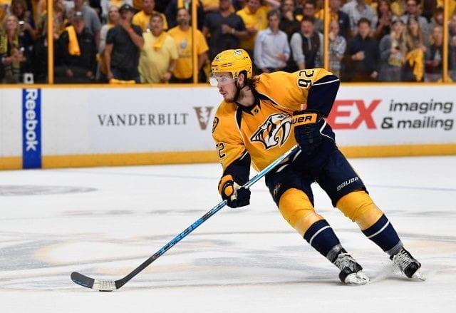 The Nashville Predators re-signed Ryan Johansen to an eight-year, $64 million deal
