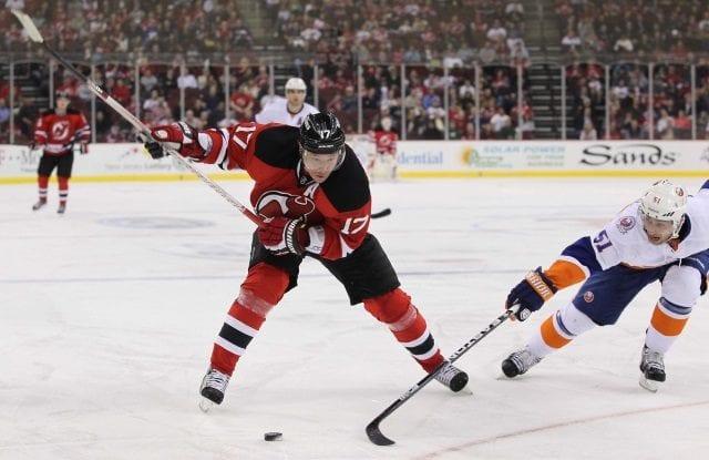 Then New Jersey Devils Ilya Kovalchuk against the New York Islanders