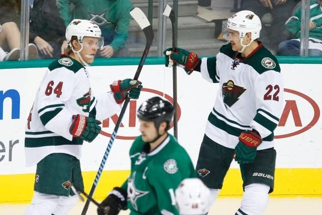 Minnesota Wild RFAs Mikael Granlund and Nino Niederreiter have arbitration dates set for next week