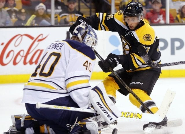 The Sabres and Robin Lehner agree on a one-year deal ... Ryan Spooner and Bruins exchange arbitration numbers