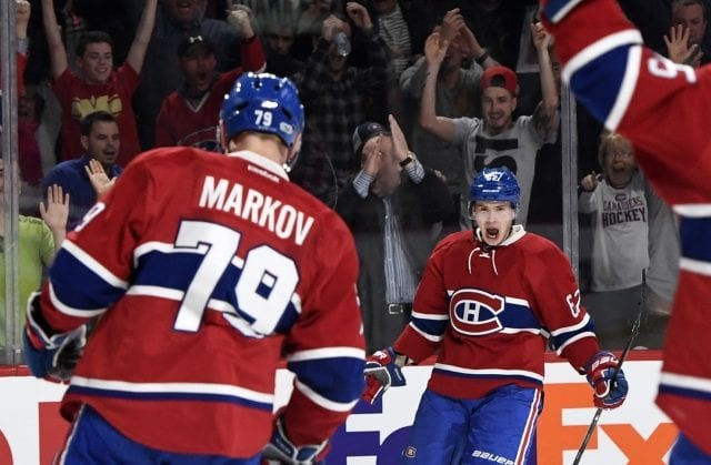With Andrei Markov not coming back and some cap space available, the Montreal Canadiens have a couple holes to fill