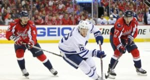 NHL restricted free agent Connor Brown isn't worried about not having a deal in place yet.