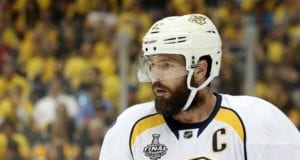 Mike Fisher announces his retirement from the NHL.