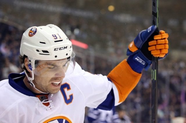 John Tavares of the New York Islanders