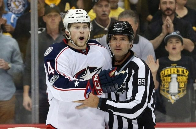 Report that Josh Anderson requested a trade from the Columbus Blue Jackets. Was news to GM Jarmo Kekelainen