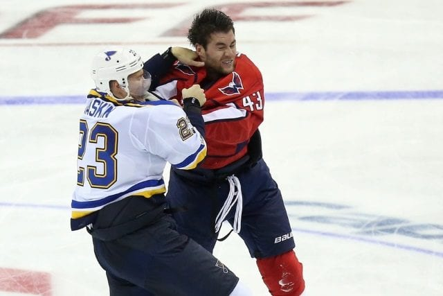 Tom Wilson was suspended for two preseason games
