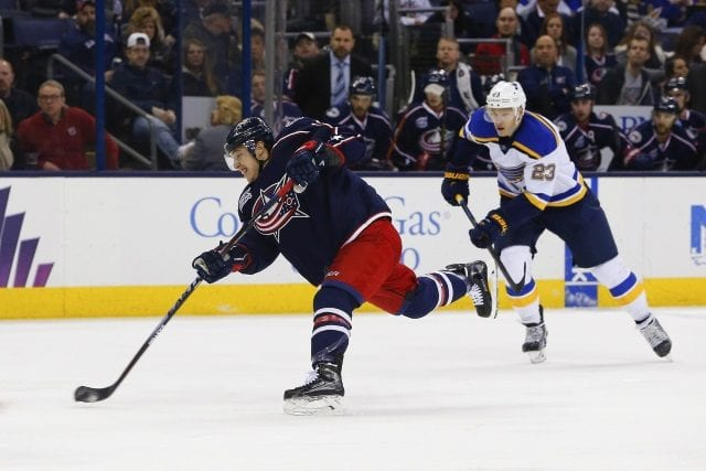 Doesn't sound like any contract talks between the Cam Atkinson and the Columbus Blue Jackets