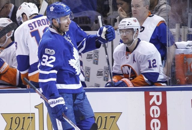The Toronto Maple Leafs had a serious trade inquiry for Josh Leivo