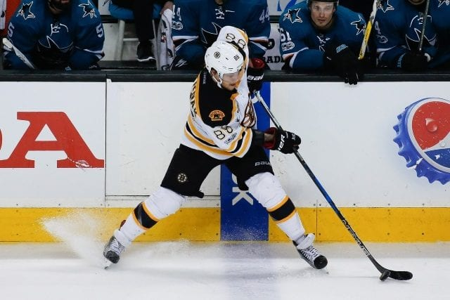 Boston Bruins sign David Pastrnak to a six-year deal