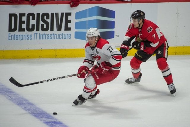 Kyle Turris and Justin Faulk
