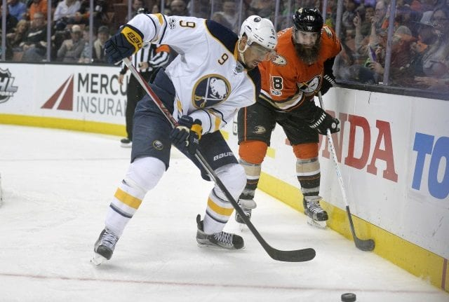 Evander Kane to the Anaheim Ducks might some sense