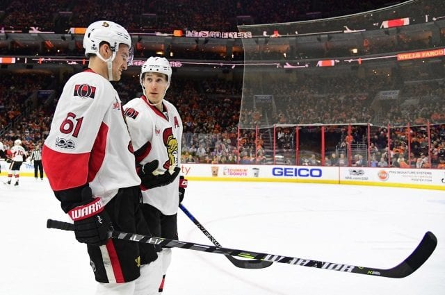 Kyle Turris and Mark Stone