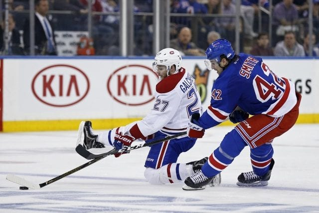 The New York Rangers doing their due diligence on Alex Galchenyuk?
