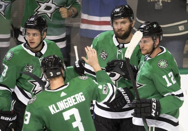 The Dallas Stars are facing some injuries upfront.