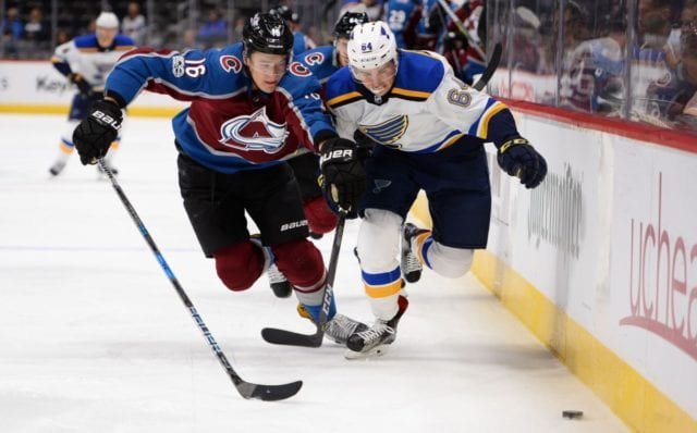 Could the Colorado Avalanche include NIkita Zadorov in a Matt Duchene trade?