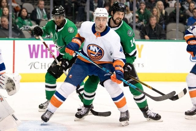 The NY Islanders and Calvin de Haan haven't held any contract extension talks.