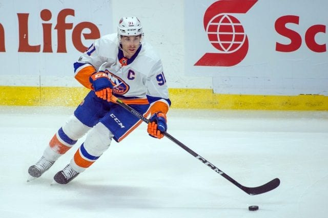 New York Islanders pending free agent John Tavares