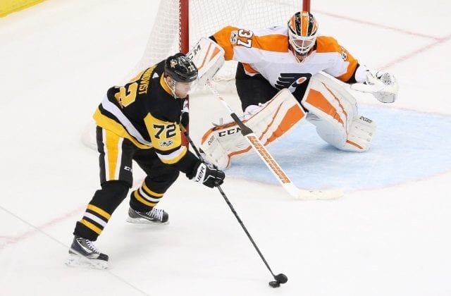 Philadelphia Flyers and Pittsburgh Penguins