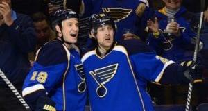 St. Louis Blues defenseman Jay Bouwmeester is about to return, Patrik Berglund getting closer