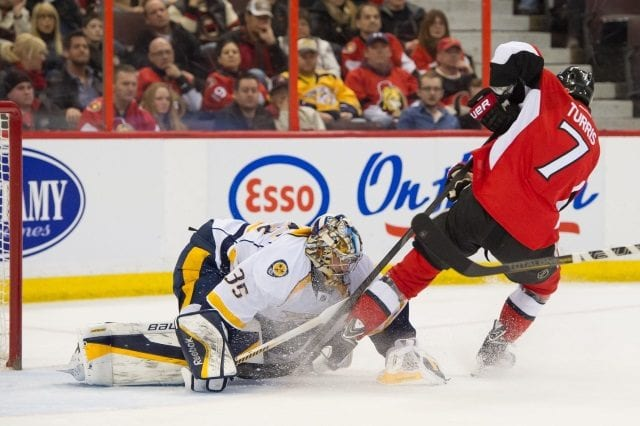 Three-team trade falls through. Nashville Predators didn't talk contract extension with Kyle Turris