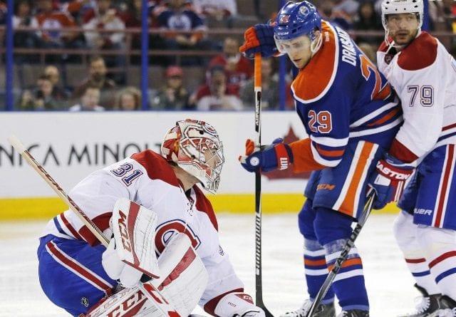 Montreal Canadiens goaltender Carey Price
