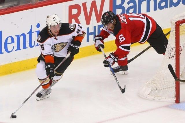 Anaheim Ducks trade Sami Vatanen to the New Jersey Devils for Adam Henrique and Joseph Blandisi