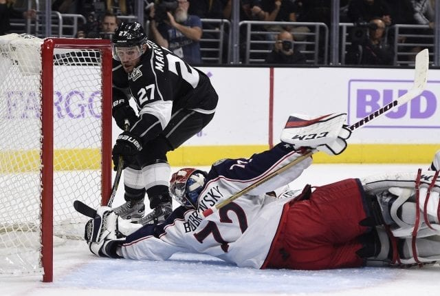 The Los Angeles aren't looking to move Alec Martinez or Jake Muzzin for scoring help anymore.