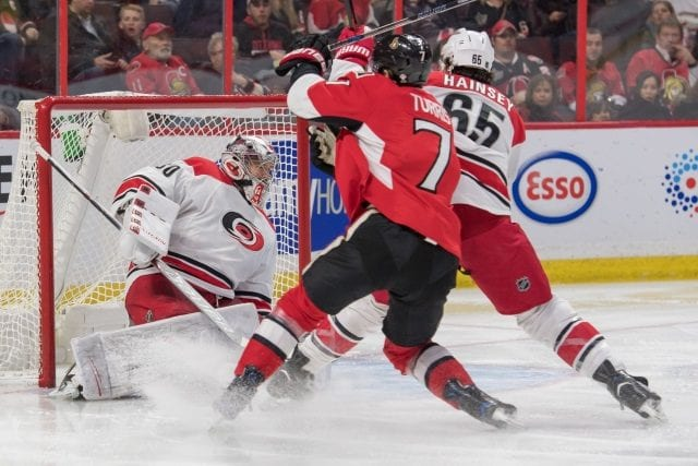 Kyle Turris never gave the Senators a six-year option. Carolina Hurricanes remaining patient