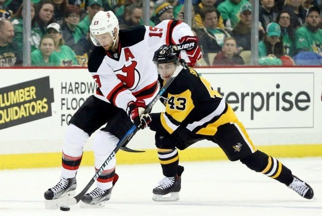 New Jersey Devils forward Travis Zajac could return this week