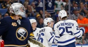 James van Riemsdyk and Robin Lehner