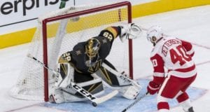 Vegas Golden Knights goaltender Marc-Andre Fleury passes concussion protocol