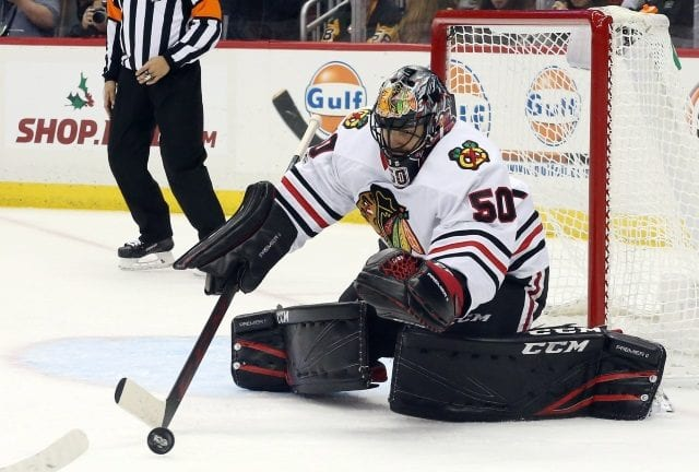Chicago Blackhawks Corey Crawford could be ready to return