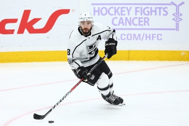 The Los Angeles Kings priority come July 1st will be to extend Drew Doughty